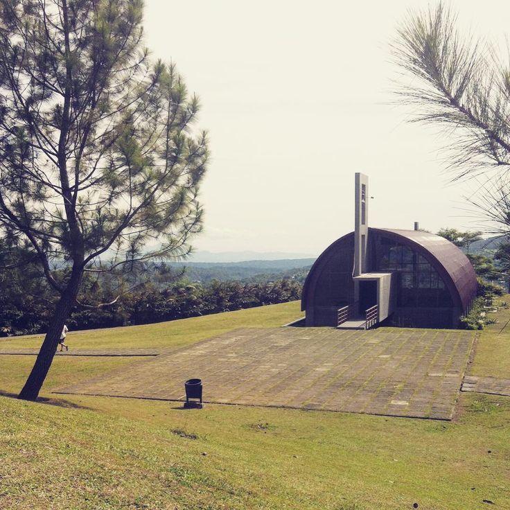 Wedding Chapel of St. Mary, Tomohon, North Sulawesi.