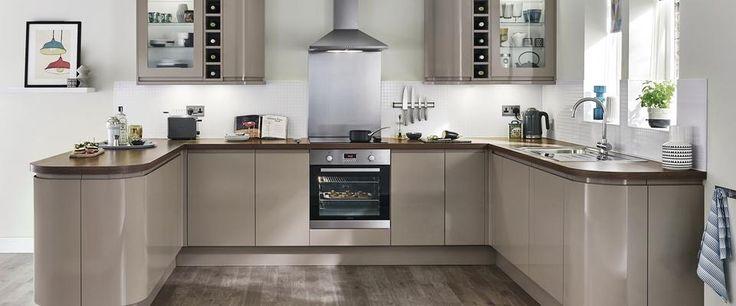 Galley Shaped Kitchen Designs
