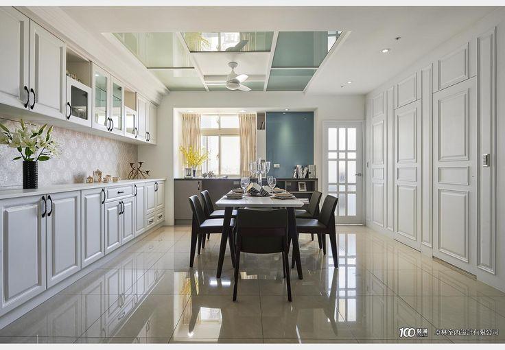 空間唯美家宅_現代風設計個案—100裝潢網