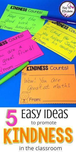 These kindness ideas are a hit in our class. Full of great resources for promoting kindness, generosity, and empathy in your class.
