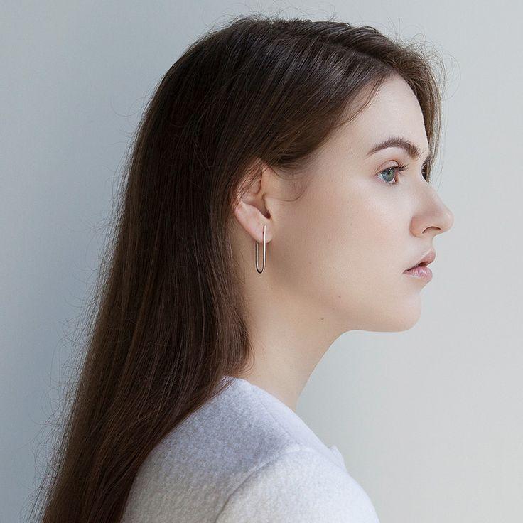 MILLER Silver Earring / PAUZE atelier / pauzeatelier.com