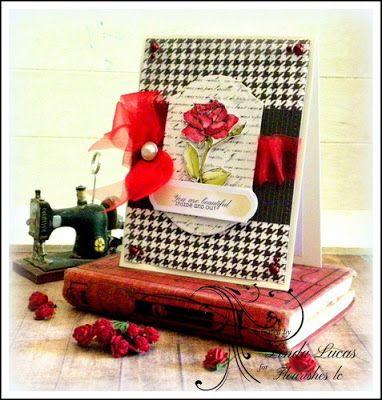 Lovely Linda's Craft Central!!: Flourishes LC - Endearing Rose @flourisheslccom @SBAdhesivesby3L @want2scrapco @chameleonpens #authentiquepaper @imaginecrafts @spellbinders #teamspellbinders #newrelease #endearingroses #mayartsribbon #smallwordsofloveandkindness #diy #handmade #card #craft #lovelylinda #lindalucas #linda