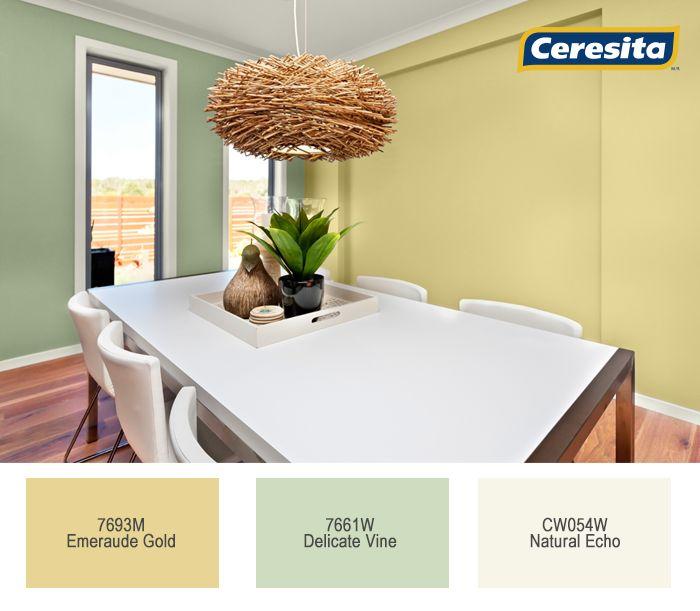 #CeresitaCL #PinturasCeresita #color #comedor #pintura #decoración #tendencia #espacios *Códigos de color sólo para uso referencial. Los colores podrían lucir diferentes, según calibrado de su monitor