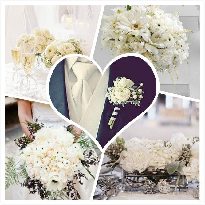 119 Best Christmas Wedding Bouquet Images On Pinterest