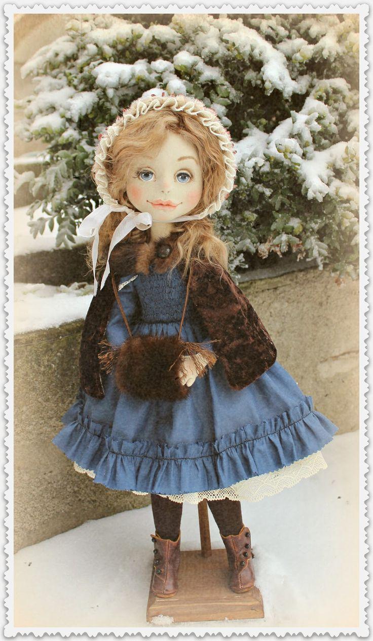 Знакомьтесь - маленькая модница рубежа 18-19вв. Куклы от Ольги Ким: куклы