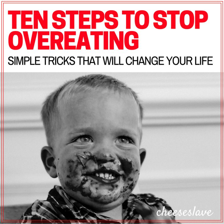 Want to stop overeating? It's easy to get into the habit of overeating. In this post, I share with you 10 simple steps to stop overeating.
