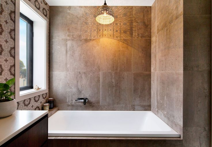 Moroccan style influenced the fit-out of this bathroom in Melbourne's south. | homestolove.com.au