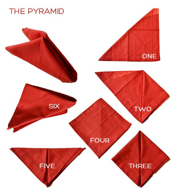 The 25 Best Easy Napkin Folding Ideas On Pinterest