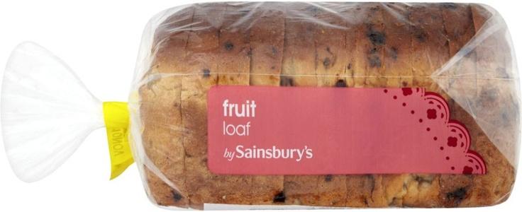 Sainsbury's Fruit Loaf (388g)