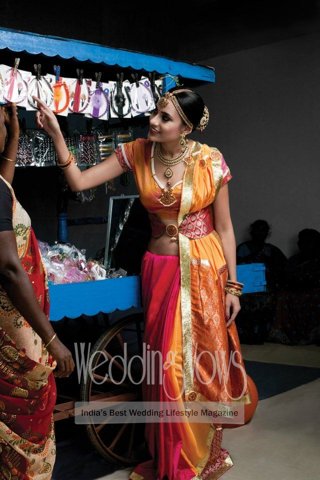 Inspiration for the South Indian Bride via Wedding Vows Magazine