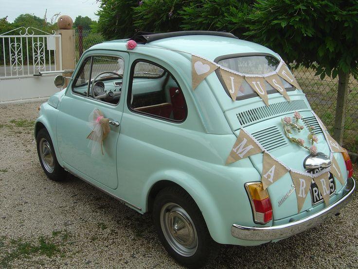 fiat 500 mariage juillet 2015 - Location Fiat 500 Mariage