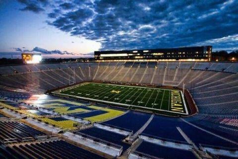 The Big House - University of Michigan Football Stadium