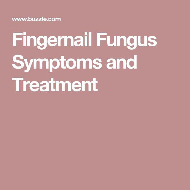Fingernail Fungus Symptoms and Treatment