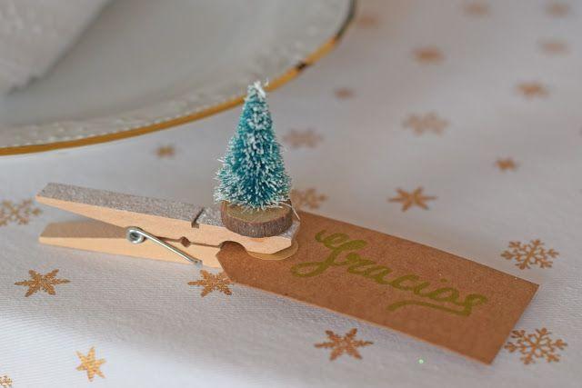 ¿Qué te parece esta idea de Ale Samaniego para decorar tu mesa esta Navidad?