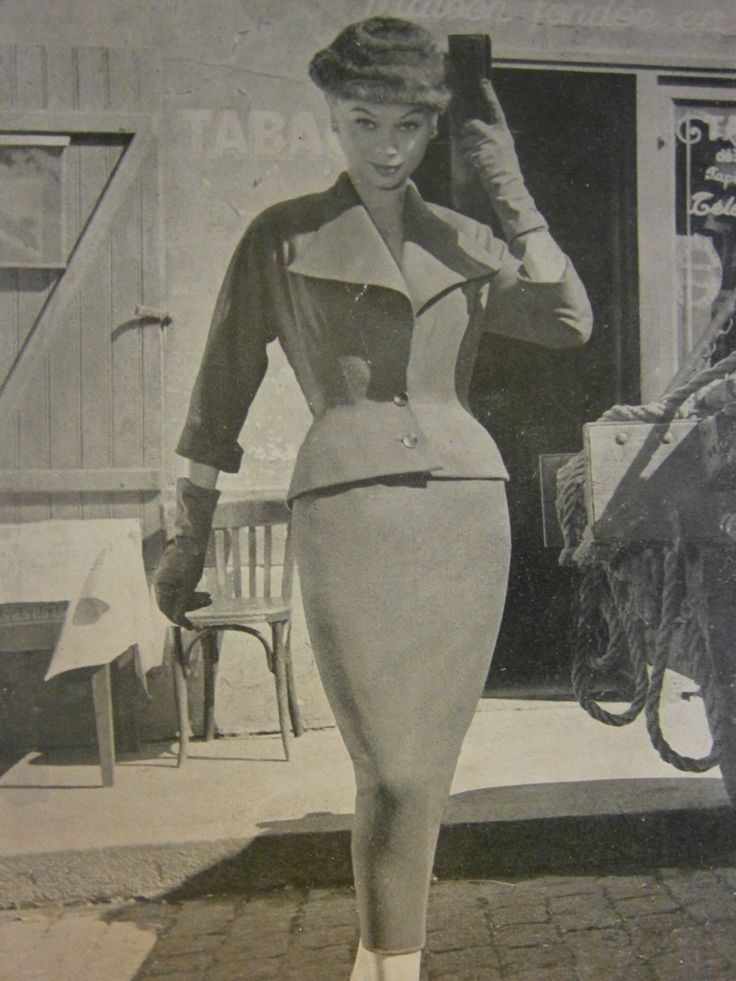 Vintage fashion of 1950s and 1960s