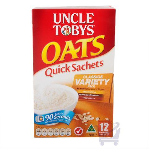 Uncle Tobys Quick Classic Variety Packs – Uncle Tobys 420g | Shop Australia