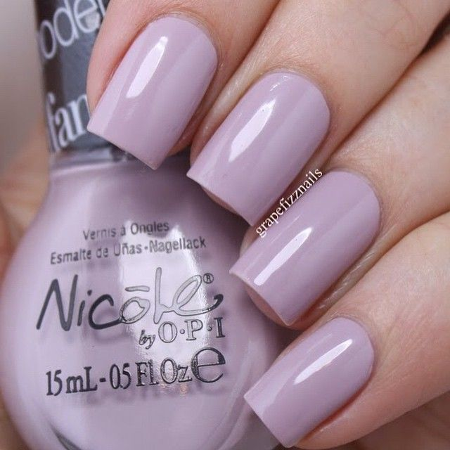 Am I Making Myself Claire? By @nicolebyopi  This soft dusty purple is lovely, and formula is fantastic!!