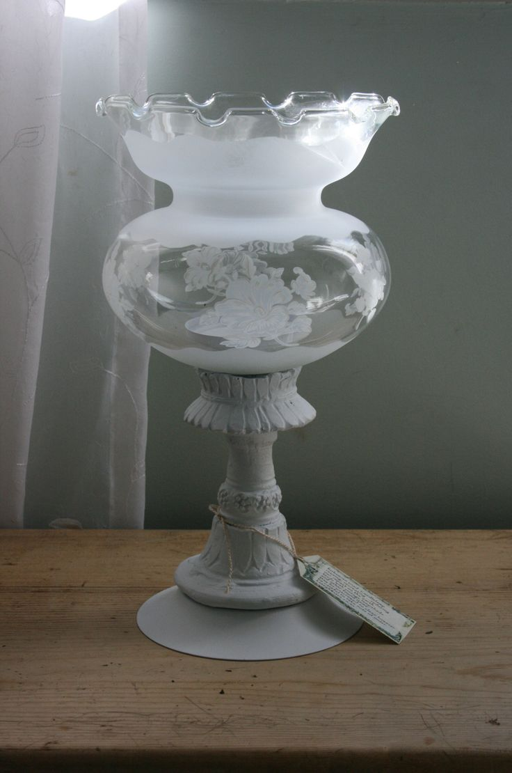 Candlelamp made from recycled items