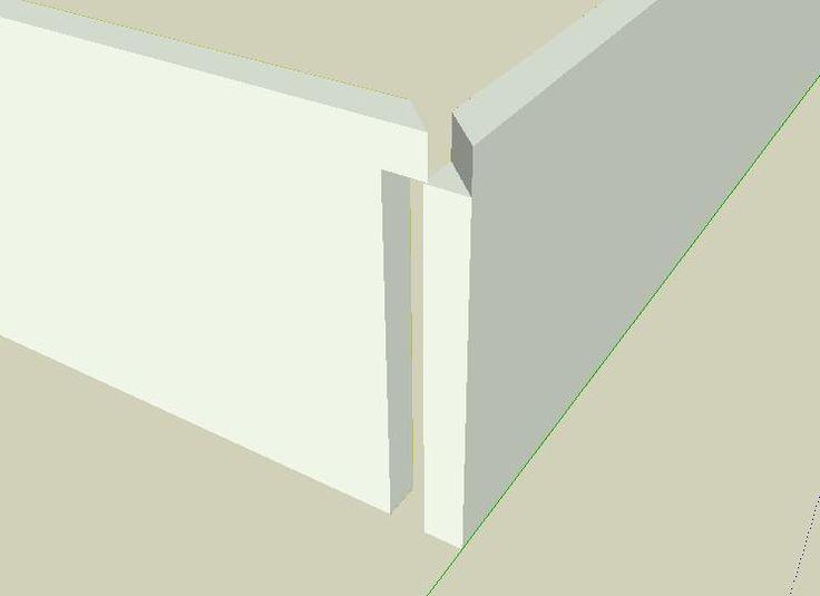 17 best ideas about plinthe bois on pinterest plinthe en. Black Bedroom Furniture Sets. Home Design Ideas