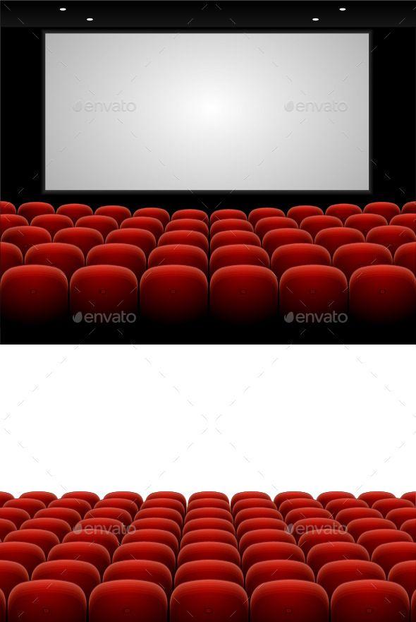 Red Cinema Theatre Seats Cinema Theatre Theater Seating Cinema