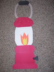 Lantern directional art project available at Making Learning Fun.
