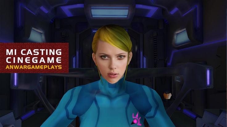 Scarlett Johansson como Samus Aran (Metroid)