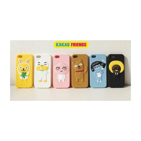 KAKAO FRIENDS - OFFICIAL GOODS : IPHONE 5 / 5S CELL PHONE CASE MUZI, NEO, JAY-G