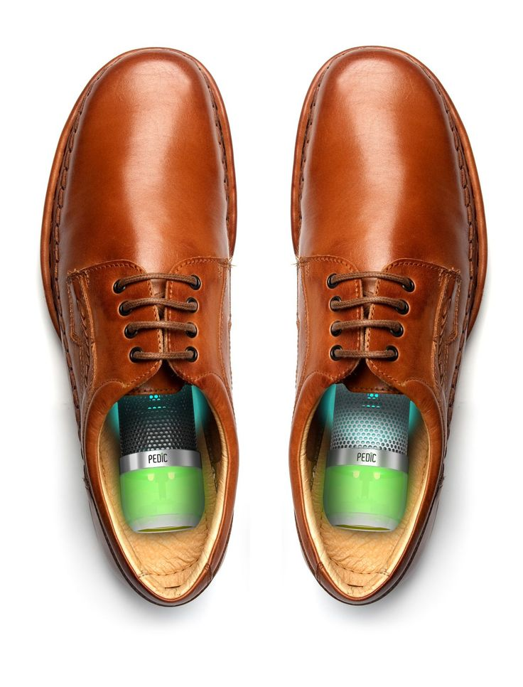 Keep your shoes smelling nice, -as well as bacteria-free, with the Pedic shoe sanitizer from Kee