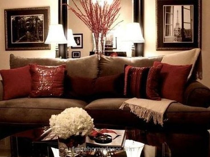 enchanting brown and tan living room decoration ideas 28