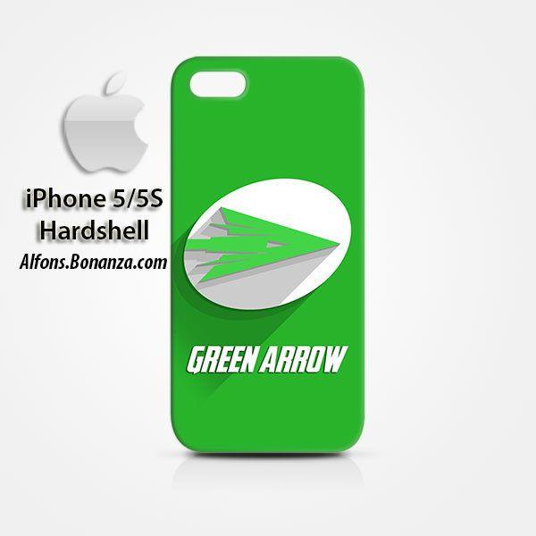 Green Arrow Logo Superhero iPhone 5 5s Hardshell Case Cover