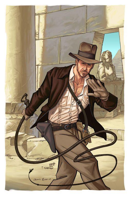 Indiana Jones by DennisBudd.deviantart.com on @deviantART