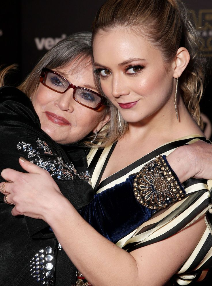Billie Lourd Shared A Star Wars Day Tribute In Honor Of Her Mom Carrie Fisher+#refinery29