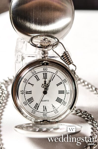 Gifts Brushes Silver Pocket Watches Favors Ideas Wedding Groomsmen