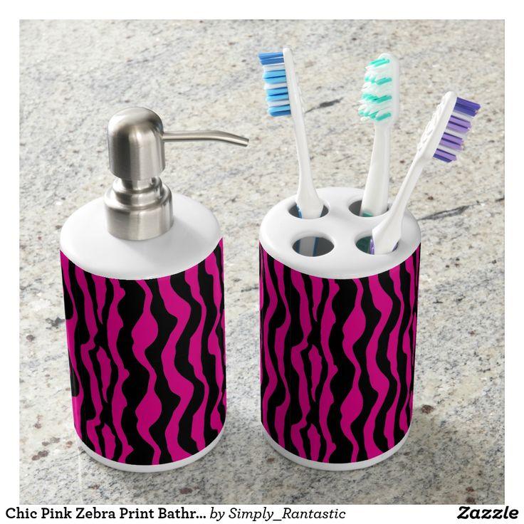 Hot Pink Zebra Bathroom Accessories: Best 25+ Zebra Print Bathroom Ideas On Pinterest