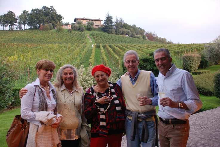 People and vineyards