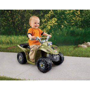 How cute is this Camo Quad Bike?   This goes up to 2mph. I can just see my 2 year old son loving this!