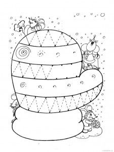 mitten trace worksheet (4) | Crafts and Worksheets for Preschool,Toddler and Kindergarten