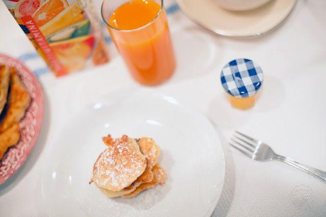 Kuchnia Bazylii: Racuchy drożdżowe