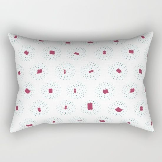 """Our Rectangular Pillow is the ultimate decorative accent to any room. Made from 100% spun polyester poplin fabric, these """"lumbar"""" pillows feature a double-sided print and are finished with a concealed zipper for an ideal contemporary look. Includes faux down insert. Available in small, medium and large."""