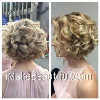 Brauthaar für kurze Haare Braut – Hochzeit Frisuren …