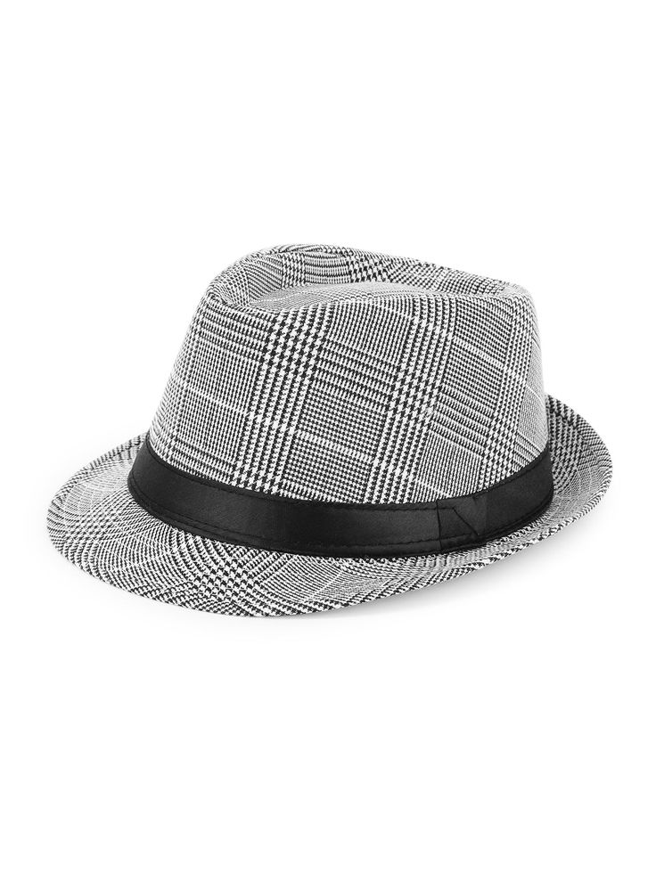 Shop Plaid Fedora Hat online. SheIn offers Plaid Fedora Hat & more to fit your fashionable needs.