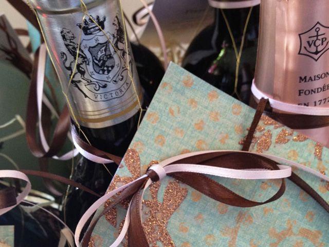 Bridal Shower Wine Poem Basket