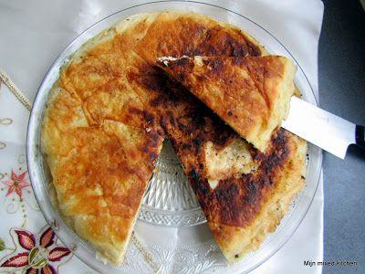 Tavada börek (in de pan gebakken börek)