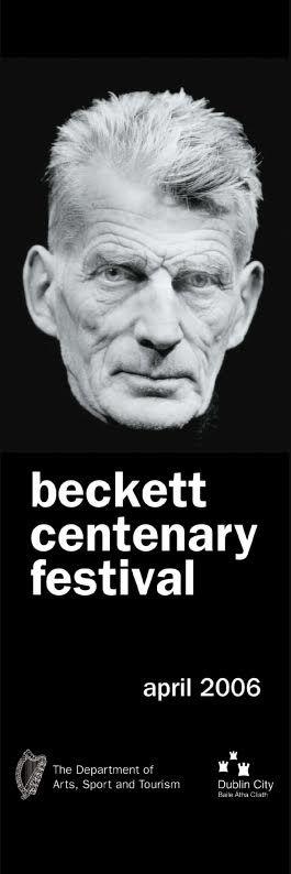 Beckett Centenary Dublin Lamppost Banners.  #civicmedia2006