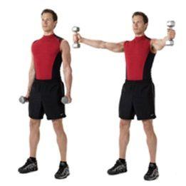 33 best shoulder exercises images on pinterest  shoulder