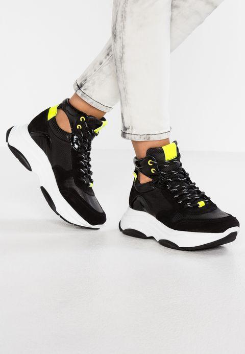 innovative design 6375c 0f600 Steve Madden ZOVA - Höga sneakers - black - Zalando.se Air Jordans, Löpare