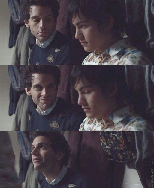 "Stills from Mika's newest music video ""Hurts"". Didn't like it so much till I understood it was against bulling and homophobia. Then I loved it. :)))"