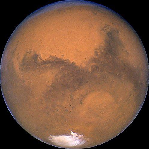 Foto's gemaakt door de Hubble-telescoop (© NASA/Reuters) De Planeet Mars