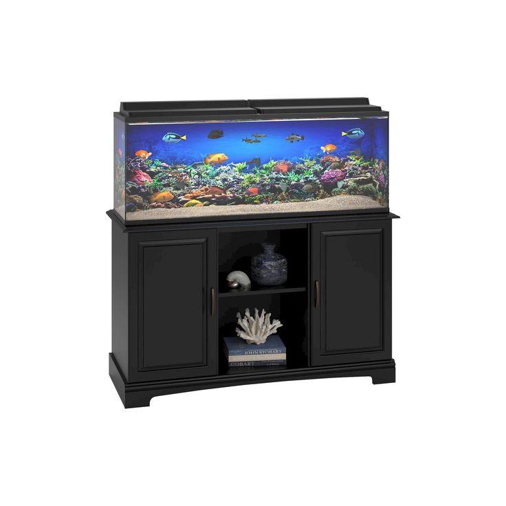 Harbor 50-75 Gallon Aquarium Stand - Black - Altra