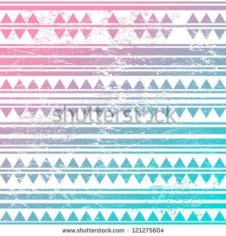 Vintage tribal pattern